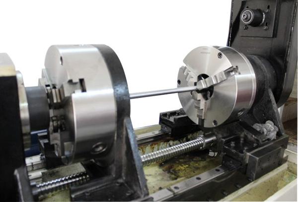 精准单轴深孔钻机床圆棒工件装夹